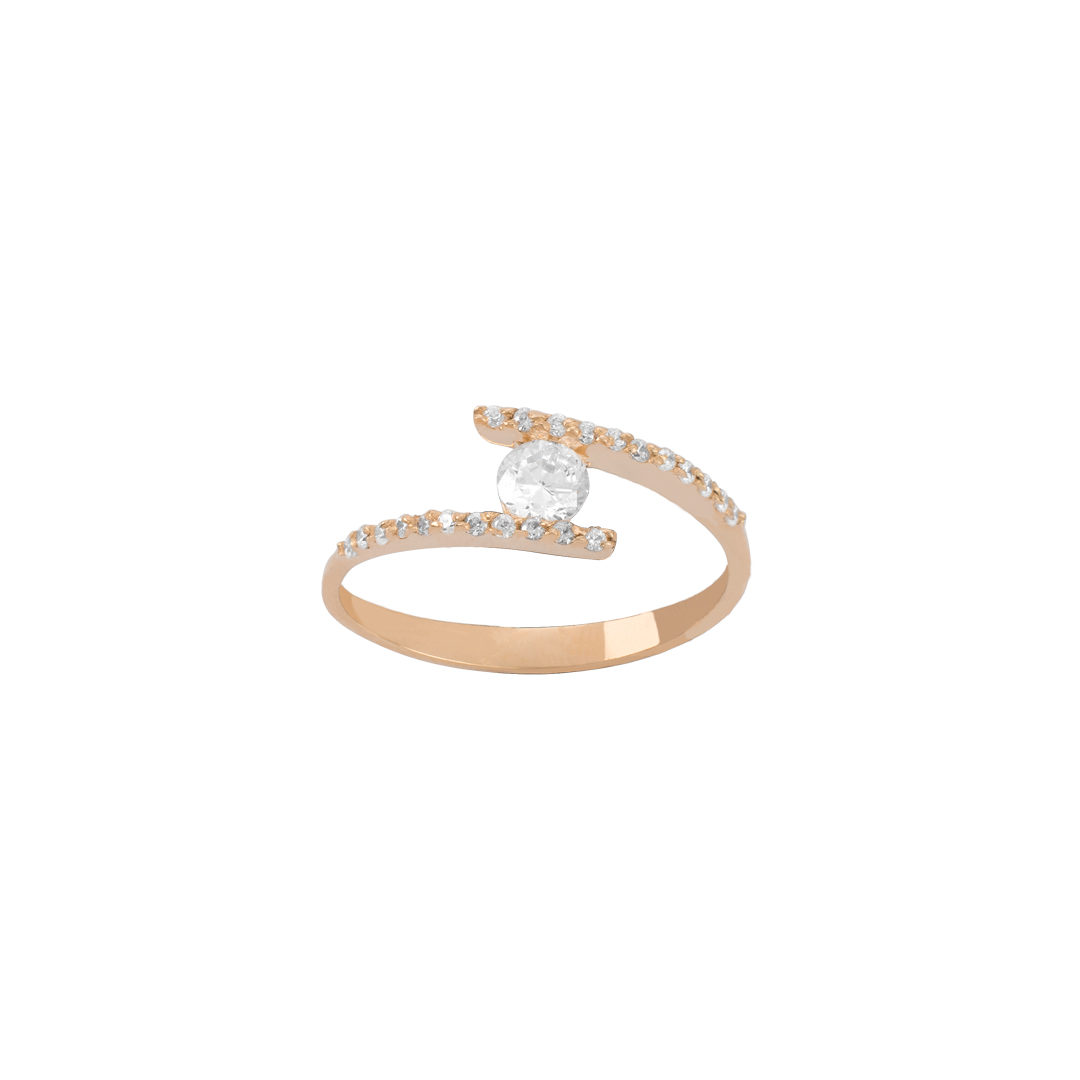 Gold Engagement Ring 19.2K, Anel de Noivado 19.2Kt
