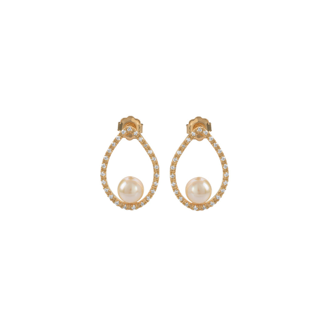 Gold Water Drop Earrings, Brincos Gota de Água