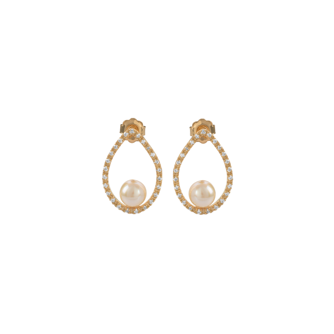 Gold Water Drop Earrings, Brincos Gota de Água