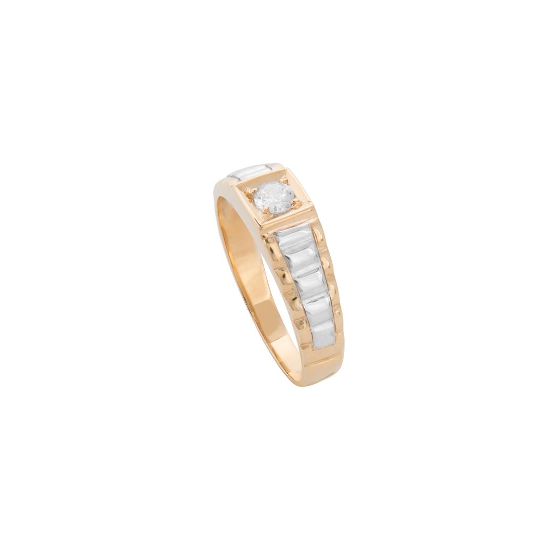 Men Gold Ring, Anel de Ouro de Homem