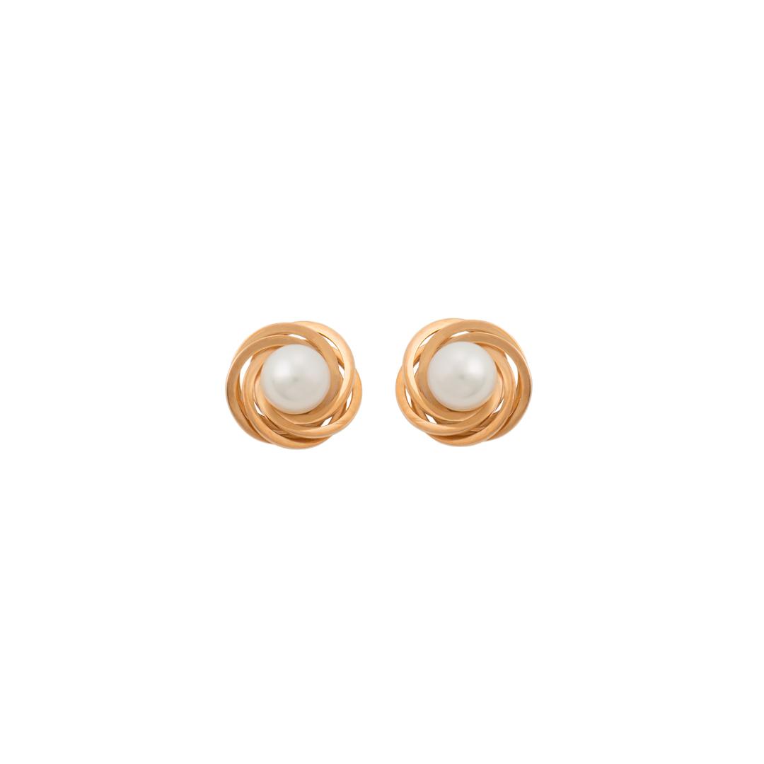 Cornucopia Gold Earrings