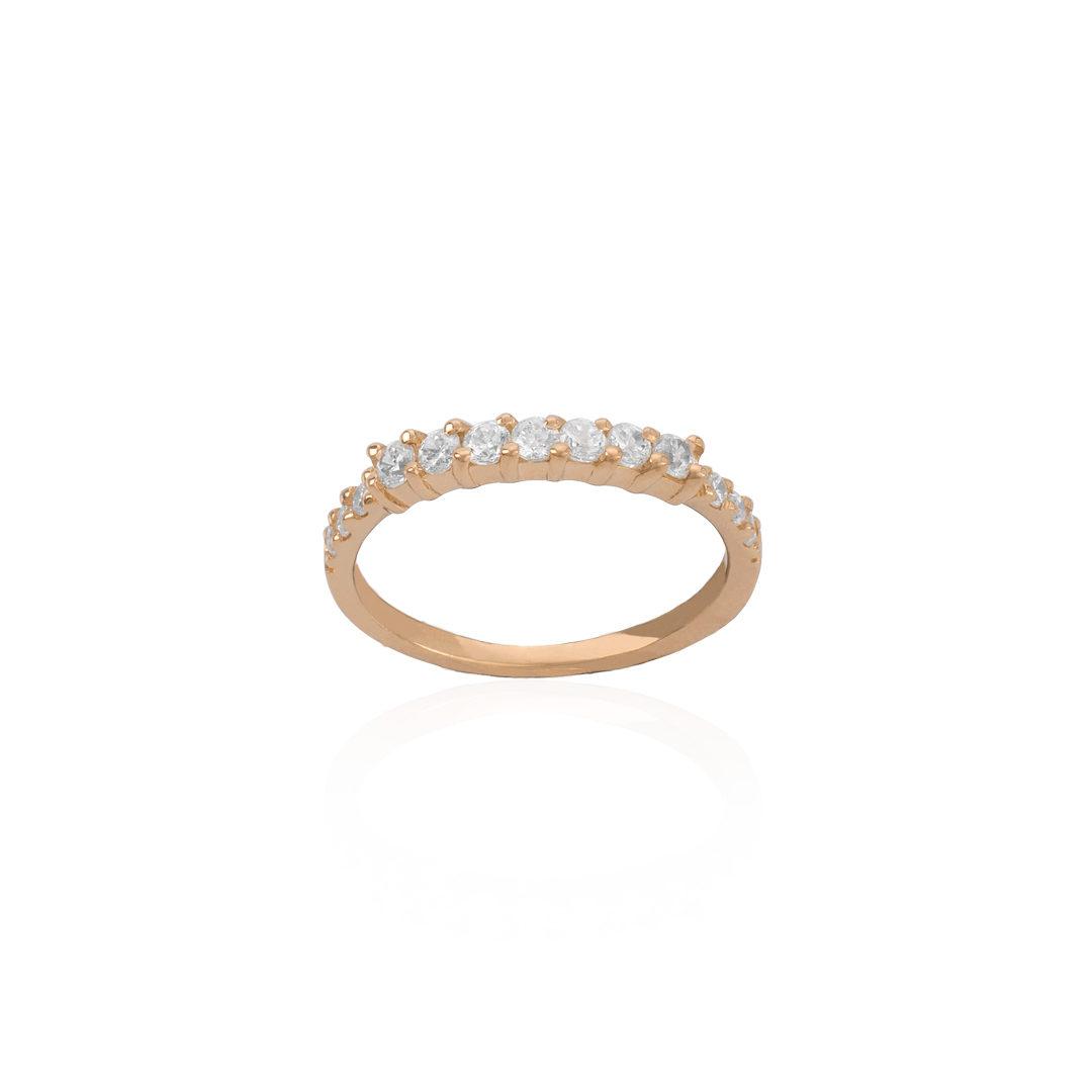 19.2Kt Gold Engagement Ring, Anel de Noivado em Ouro 19.2Kt