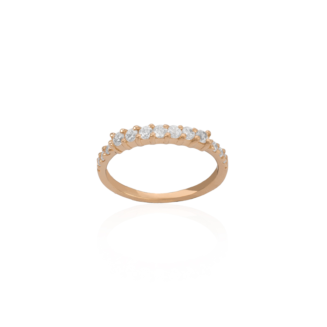 19.25Kt Gold Engagement Ring, Anel de Noivado em Ouro 19.25Kt